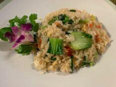 Reis und Nudeln
