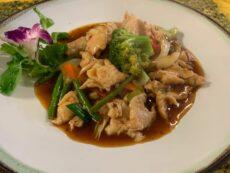 Hühnefleisch-Gerichte