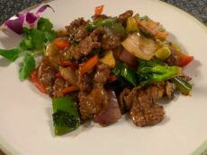 Rindfleisch-Gerichte