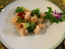 Garnelen-Gerichte